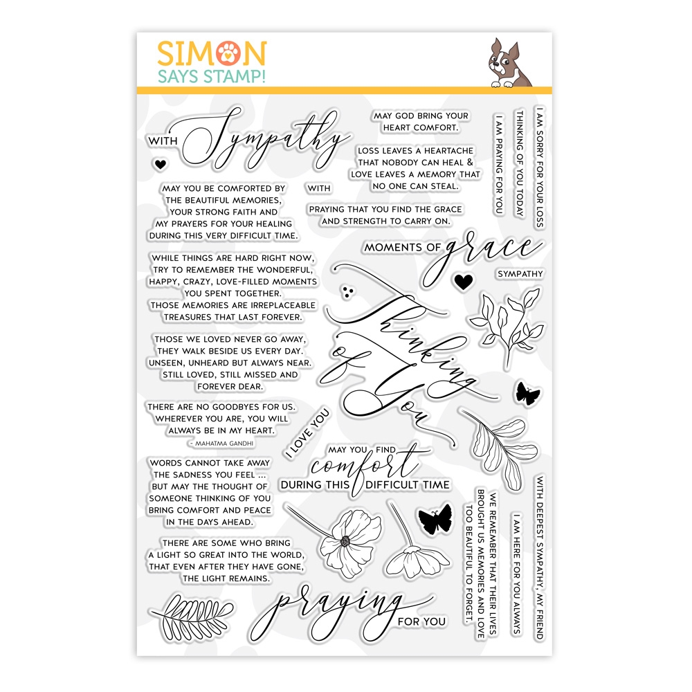 Simon Says Clear Stamps MOMENTS OF GRACE sss101951 You Are Loved zoom image