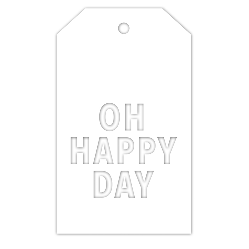 RESERVE Simon Says Stamp OH HAPPY DAY TAG Wafer Die czd45 You Are Loved zoom image