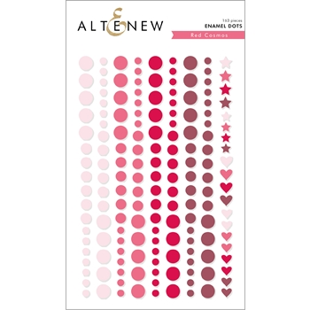 Altenew RED COSMOS Enamel Dots ALT2591