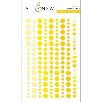 Altenew POCKET OF SUNSHINE Enamel Dots ALT2590