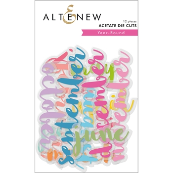Altenew YEAR-ROUND ACETATE Die Cuts ALT2587