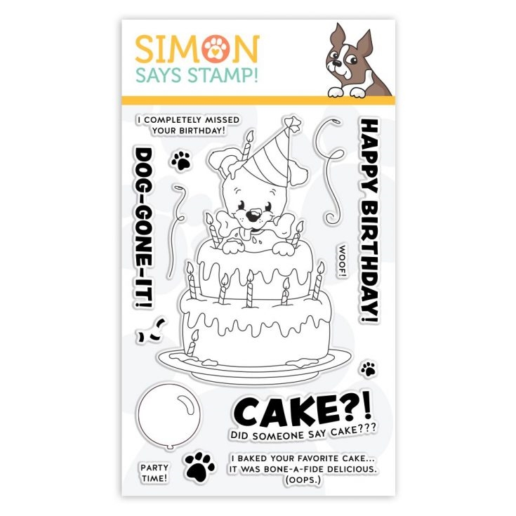 Simon Says Clear Stamps BONE-A-FIDE BIRTHDAY sss101955 You Are Loved zoom image
