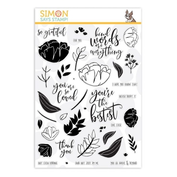 Simon Says Clear Stamps SO LOVED sss101952 You Are Loved