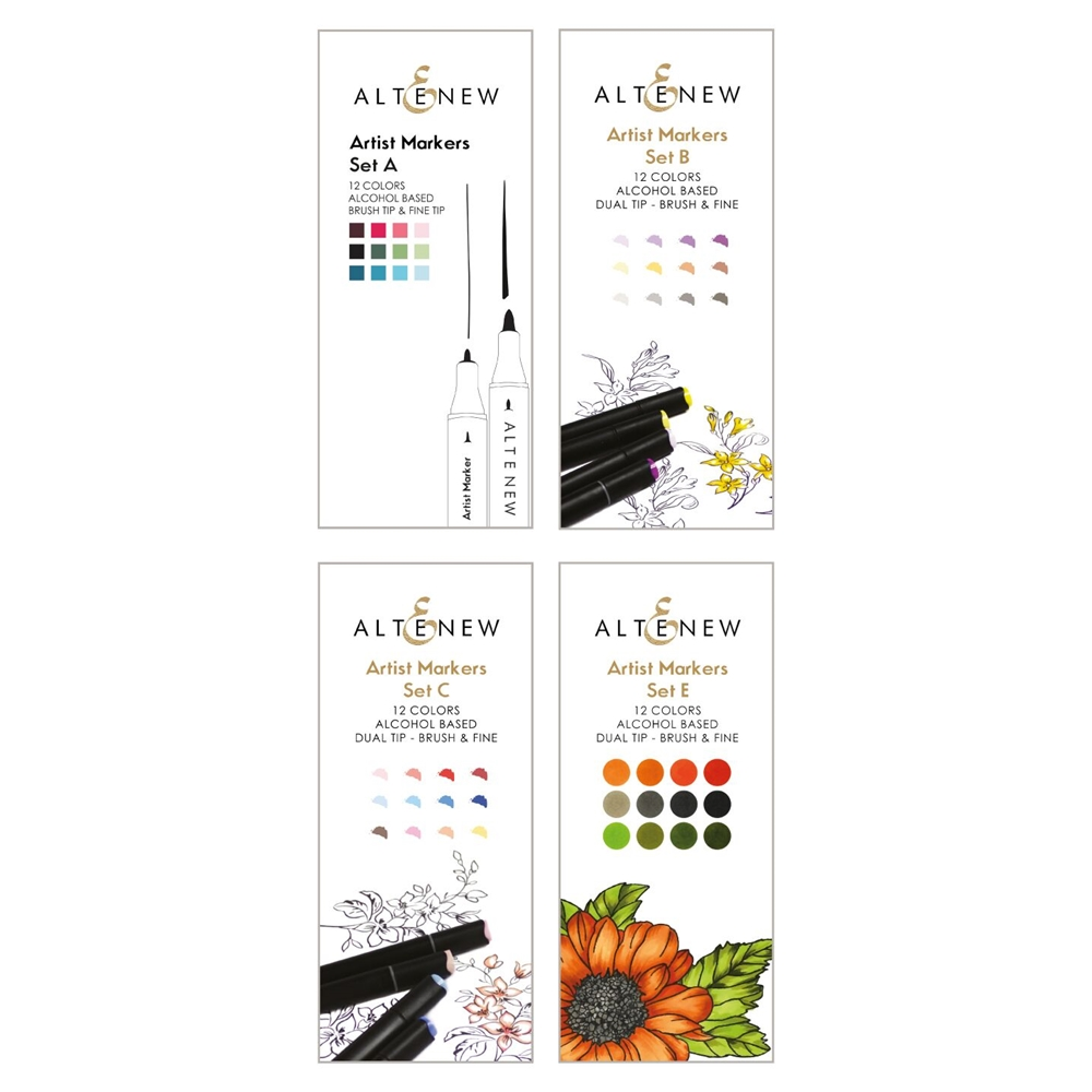 Altenew ARTIST MARKERS 48 COLOR SET ALT2987 zoom image