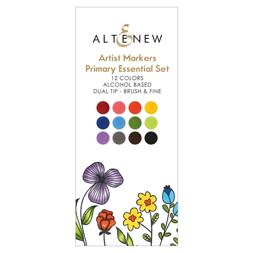 Altenew ARTIST MARKERS PRIMARY ESSENTIALS ALT2539 Preview Image