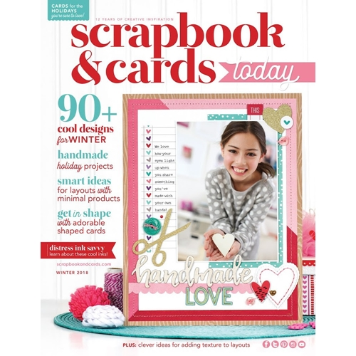 Scrapbook & Cards Today Magazine WINTER 2018 Issue wsct18 Preview Image