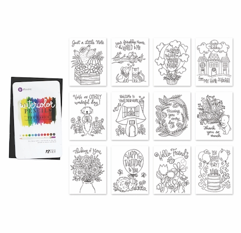 Simon Says Stamp WATERCOLOR GIFT SET wcgs1218 You Are Loved zoom image