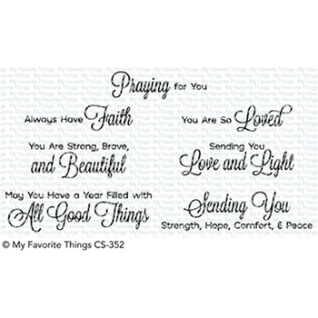 My Favorite Things BEAUTIFUL BLESSINGS 2 Clear Stamps CS352