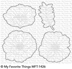 My Favorite Things BRILLIANT BLOOMS Die-Namics MFT1426