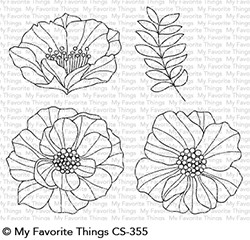 My Favorite Things BRILLIANT BLOOMS Clear Stamps CS355
