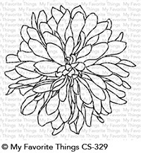 My Favorite Things BEAUTIFUL BLOOM Clear Stamp CS329