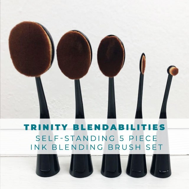 Trinity Stamps BLENDABILITY 5 PIECE BRUSH SET 1542844477 zoom image