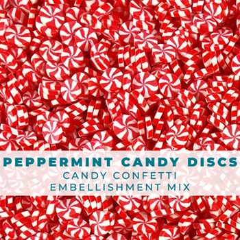 Trinity Stamps PEPPERMINT CANDY CONFETTI SPRINKLES Embellishment Bag 1541170884
