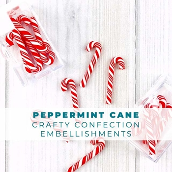 Trinity Stamps PEPPERMINT CANDY CANE Embellishment Bag 1541173274