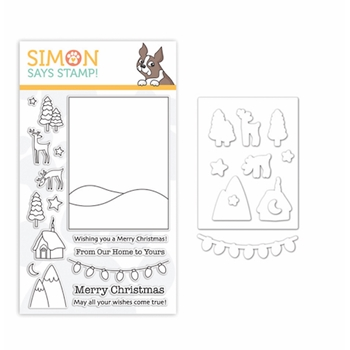 Simon Says Stamps And Dies WINTER SCENE set333ws Fun And Festive