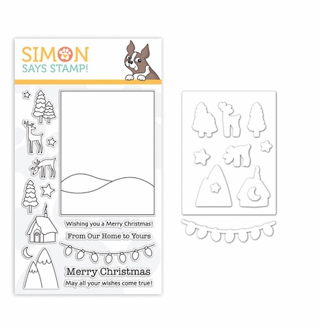 Simon Says Stamps And Dies WINTER SCENE set333ws Fun And Festive zoom image