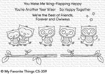 My Favorite Things FOREVER AND OWLWAYS Clear Stamps CS359