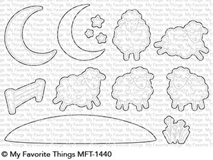 My Favorite Things OVER THE MOON FOR EWE Die-Namics MFT1440