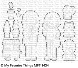 My Favorite Things FRIENDS AT FIRST SIP Die-Namics MFT1434