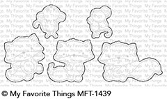 My Favorite Things FOX AND FRIEND Die-Namics MFT1439