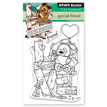 Penny Black Clear Stamps SPECIAL FRIEND 30-531