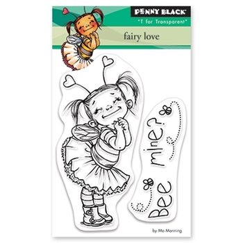 Penny Black Clear Stamps FAIRY LOVE 30-530