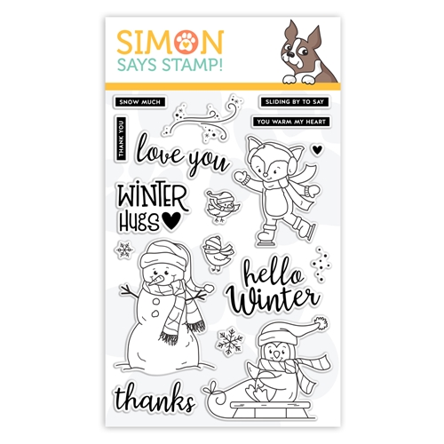 Simon Says Clear Stamps WINTER HUGS sss101965  Preview Image