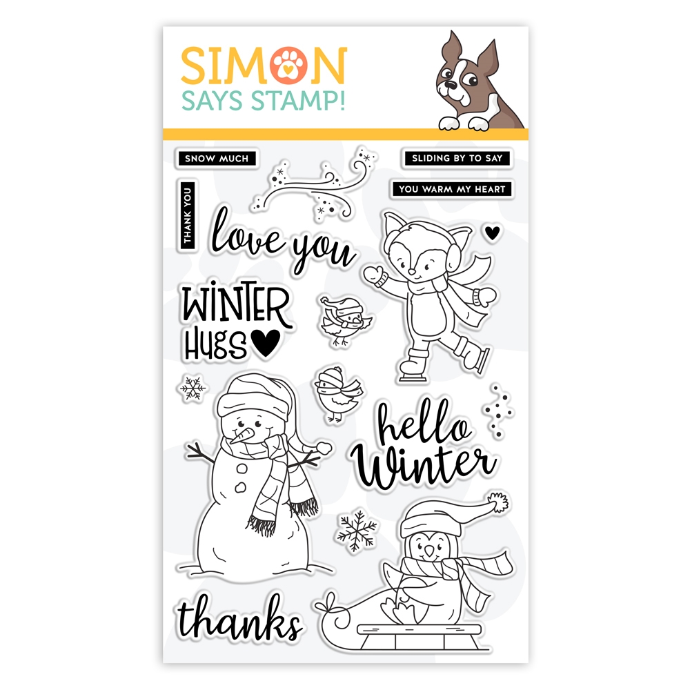 Simon Says Clear Stamps WINTER HUGS sss101965  zoom image