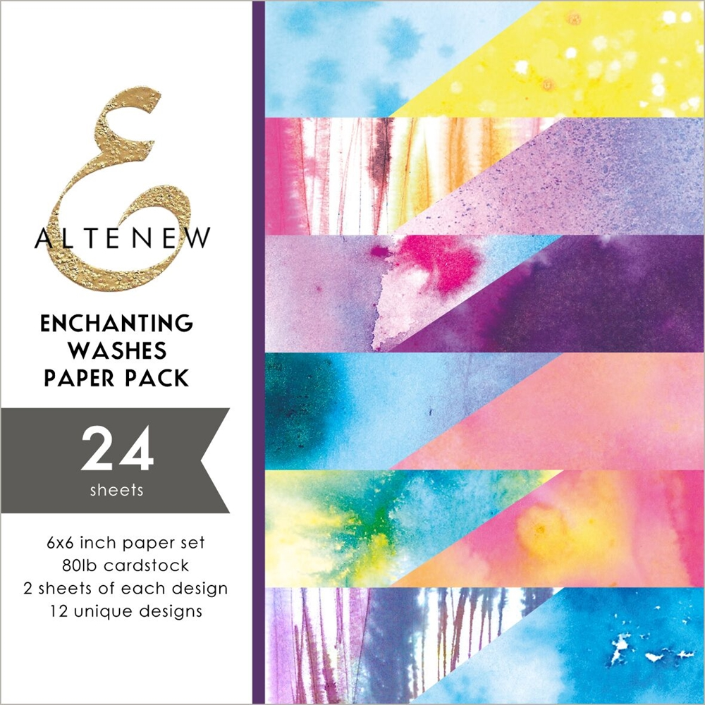 Altenew ENCHANTING WASHES 6x6 Paper Pack ALT2889 zoom image