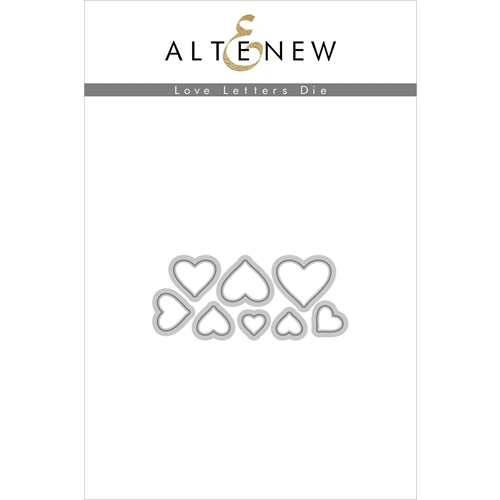 Altenew LOVE LETTERS Dies ALT2850 Preview Image