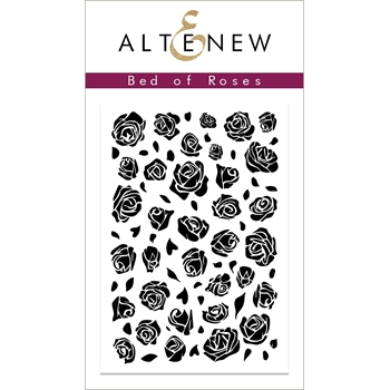 Altenew BED OF ROSES Clear Stamp ALT2839