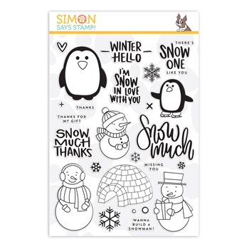 Simon Says Clear Stamps SNOW MUCH sss101896