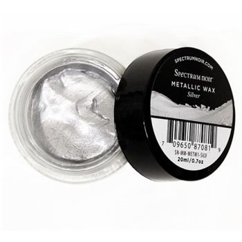 Crafter's Companion SILVER Spectrum Noir Metallic Wax sn-mm-metw1-silv