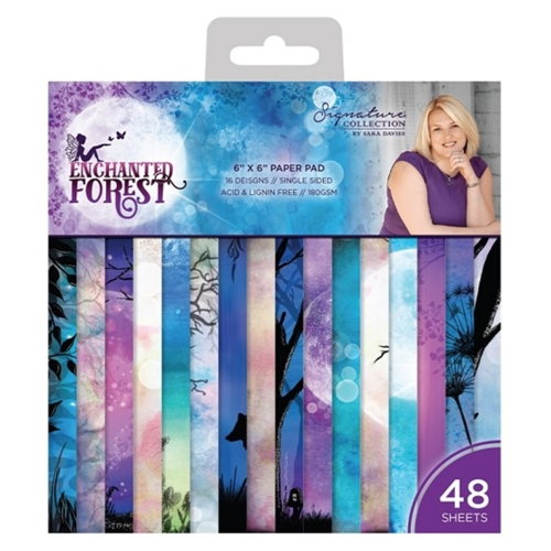Crafter's Companion ENCHANTED FOREST 6 x 6 Paper Pad s-ef-pad6 Preview Image