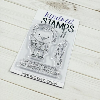 Kindred Stamps PLAY PRETEND Clear Stamp Set KS5724