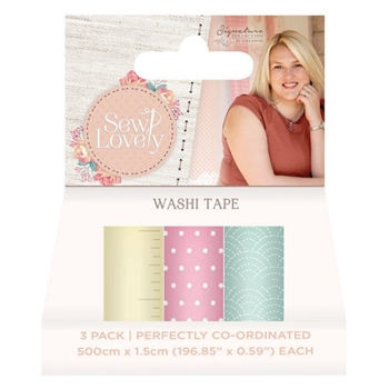 Crafter's Companion SEW LOVELY Washi Tape s-sl-washi