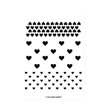 The Stamp Market HEART TO HEART Clear Stamp Set tsm085
