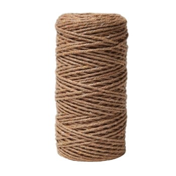 May Arts KRAFT Baker's Twine Twisted Ribbon 4120233