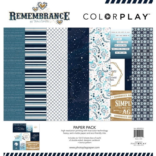 PhotoPlay REMEMBRANCE 12 x 12 Collection Pack ColorPlay rem9214 Preview Image