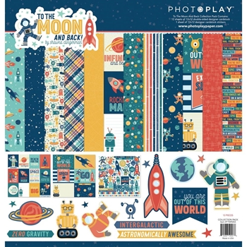 PhotoPlay TO THE MOON 12 x 12 Collection Pack ttm9203