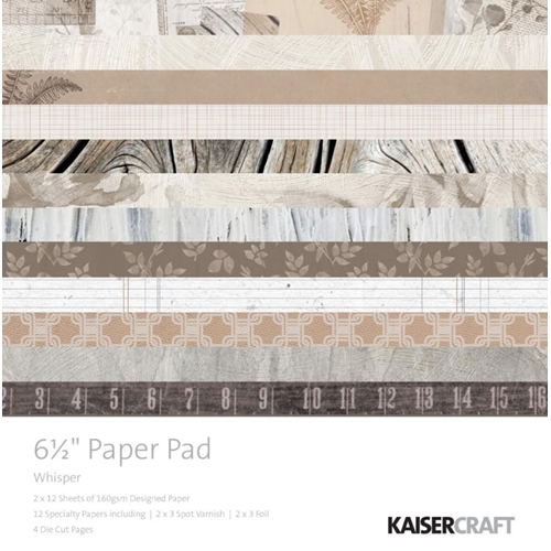 Kaisercraft WHISPER 6.5 Inch Paper Pad PP1060 Preview Image