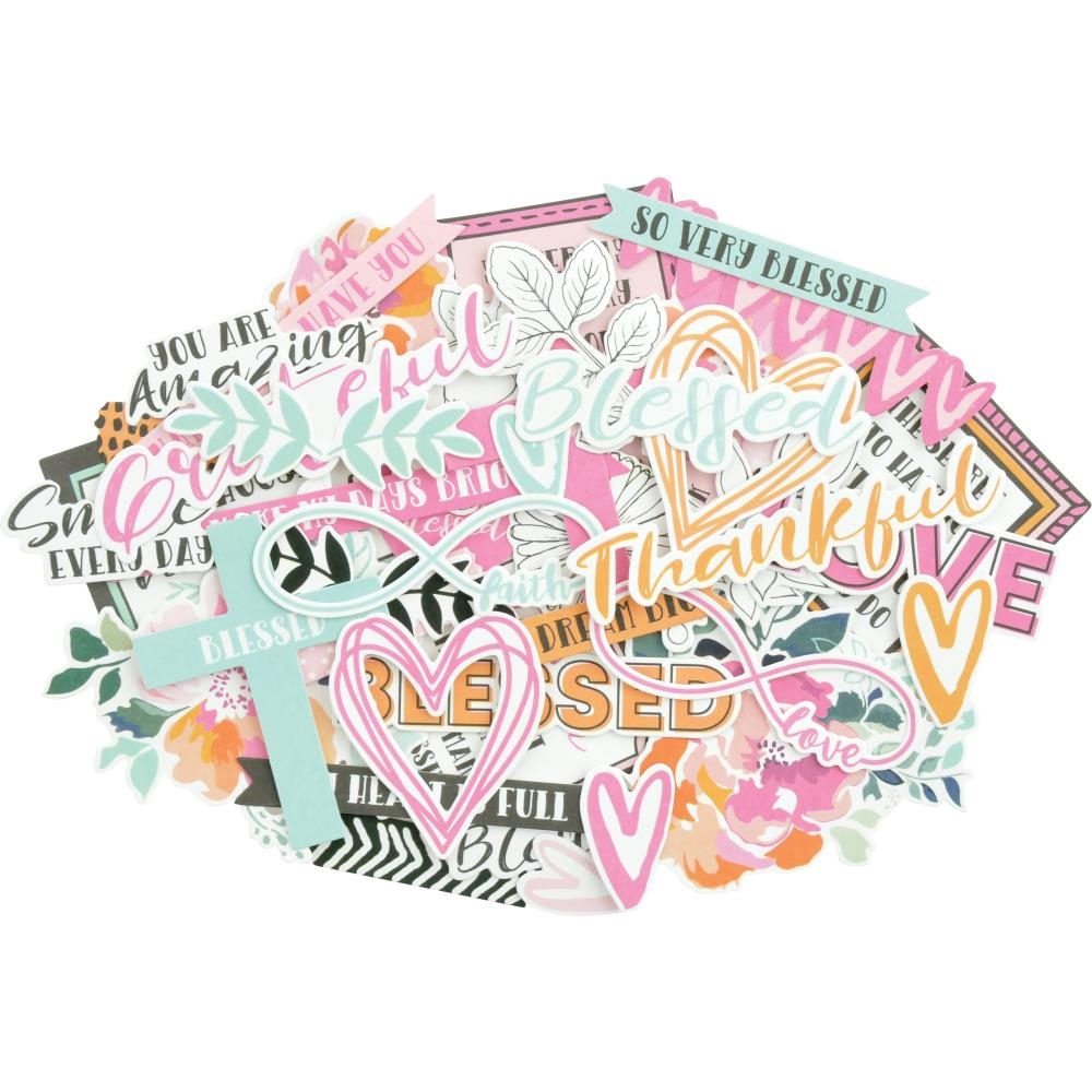 Kaisercraft BLESSED Collectables Die Cut Shapes CT952 zoom image