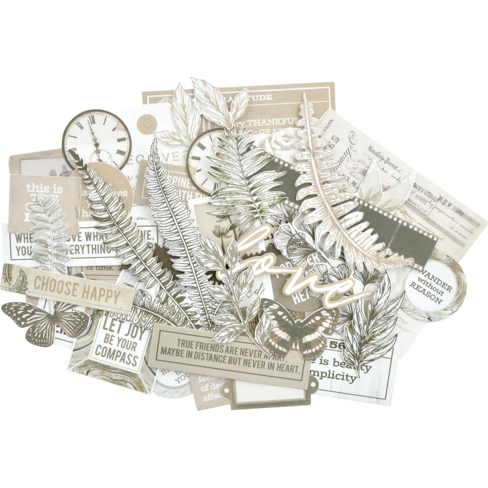 Kaisercraft WHISPER Collectables Die Cut Shapes CT953 zoom image