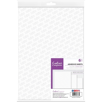 Crafter's Companion DOUBLE SIDED ADHESIVE SHEETS cc-acc-adhus