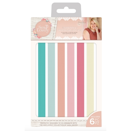 Crafter's Companion SEW LOVELY Embroidery Threads s-sl-embrth Preview Image