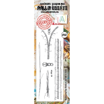 AALL & Create ZIPP IT 147 Clear Stamp Set aal00147