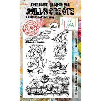 AALL & Create BOTANICALS Clear Stamp Set aal00153