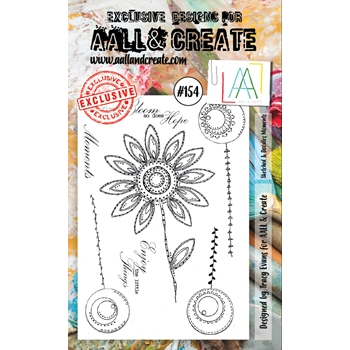 AALL & Create SKETCHED AND DOODLES MOMENTS Clear Stamp Set aal00154