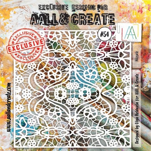 AALL & Create MOSAIC Stencil aal10054 Preview Image