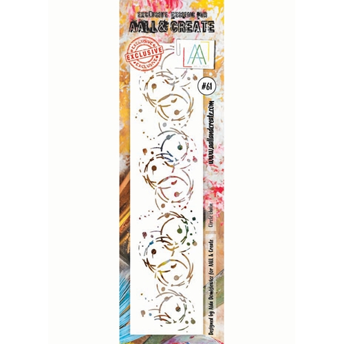 AALL & Create CIRCLE CHAIN Stencil aal10061 Preview Image